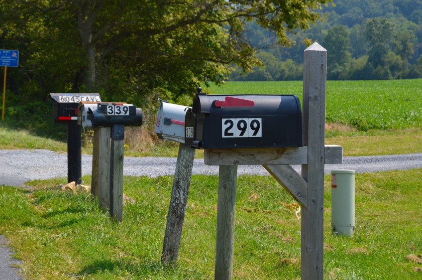 always thought these mailboxes were so cool.
