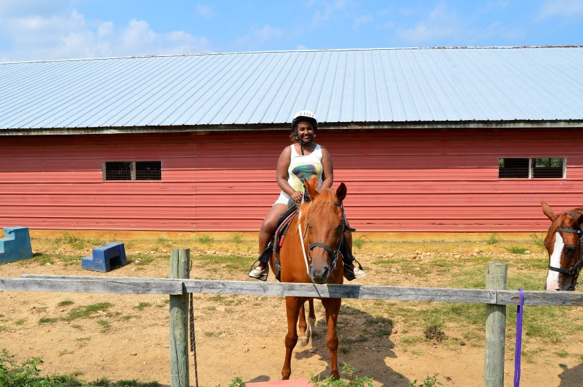 I survived my first horse riding experience :D